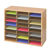Safco Wood/Corrugated Literature Organizer SFC 9402MO