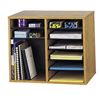 double markdown: Safco - Wood Adjustable Organizer