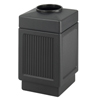 Safco-trash-receptacles: Safco - Canmeleon™ Recessed Panel Receptacles
