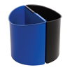 Safco-wastebaskets: Safco - Small Desk-Side Receptacle