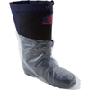 Shoe Covers: Safety Zone - Clear Polyethylene Boot Covers