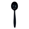 Safety Zone Heavy Weight Polystyrene Soup Spoon SFZ CPSHWSSBKE1