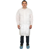 workwear lab coats: Safety Zone - White Polypropylene Lab Coat