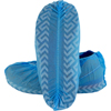 Shoe Covers: Safety Zone - Blue Polypropylene Disposable Shoe Cover