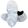 Safety Zone White SMS Polypropylene Disposable Shoe Cover SFZ DSCW-2-XL-SMS50