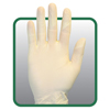 gloves: Safety Zone - Powder Free Natural Synthetic Gloves