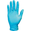 gloves: Safety Zone - Blue Premium Synthetic Disposable Gloves, Powder Free, Non-Medical