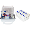 Safety Zone 10 Person Plastic First Aid Kit SFZ K-FAK-10