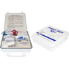 Safety Zone 50 Person Plastic First Aid Kit SFZ K-FAK-50-P