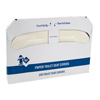 Safety Zone - Standard Paper Toilet Seat Covers - 5,000 Covers per Case
