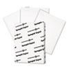 International Paper Springhill® Digital Vellum Bristol White Cover SGH 016000