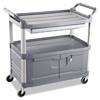 Janitorial Carts, Trucks, and Utility Carts: Utility Cart Replacement Parts, Door Kit with Lock