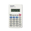 Office Machines: Sharp® EL233SB Pocket Calculator