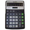 Sharp Electronics Sharp® EL-R297BBK Recycled Series Semi-Desk Display Calculator with Kick-stand SHR ELR297BBK