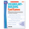 Scholastic Scholastic Vocabulary Building Card Games SHS 0439554659