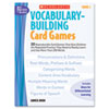 Scholastic Scholastic Vocabulary Building Card Games SHS 0439578167