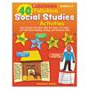 Scholastic Scholastic 40 Fabulous Social Studies Activities SHS SC531505