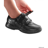 adaptive apparel: Silverts - Women's Propet Extra Wide Leather Walking Shoes