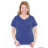 womens shirts: Silverts - Short Sleeve V Neck T Shirt