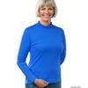 Silverts Women's Long Sleeve Mock Turtleneck Shirt SIL130600203