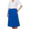 Silverts Womens Regular Elastic Waist Skirt With Pockets SIL 131310906