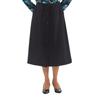 Silverts Womens Regular Elastic Waist Skirt With Pockets SIL 131311007