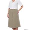 Silverts Womens Regular Elastic Waist Skirt With Pockets SIL 131301006