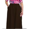 Silverts Womens Regular Elastic Waist Skirt With Pockets SIL 131310206