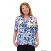 Silverts Women's Regular Short Sleeve Blouse SIL132500101