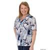 Silverts Womens Regular Short Sleeve Blouse SIL 132501002