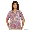 Silverts Womens Regular Short Sleeve Blouse SIL 132501902