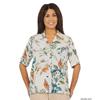 Silverts Womens Regular Short Sleeve Blouse SIL 132502001