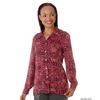 Silverts Womens Regular Long Sleeve Convertible Collar Blouse SIL 133710901