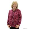 Silverts Womens Regular Long Sleeve Convertible Collar Blouse SIL 133702303