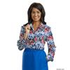 Silverts Womens Regular Long Sleeve Convertible Collar Blouse SIL 133712101