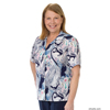Silverts Womens Regular Short Sleeve Petite Blouse SIL 134700206