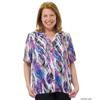 Silverts Womens Regular Short Sleeve Petite Blouse SIL 134700406