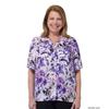 Silverts Womens Regular Short Sleeve Petite Blouse SIL 134700606
