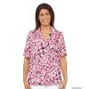 Silverts Womens Regular Short Sleeve Petite Blouse SIL 134702906