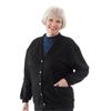 Silverts Womens Fleece Cardigan SIL 136901102