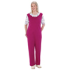 Silverts Womens Adaptive Alzheimers Antistrip Suits Pajamas - Back Zipper One Piece SIL 233200403
