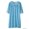 Silverts Womens Soft Cotton Knit Hospital Gowns SIL 260012103