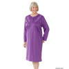 Adaptive Apparel: Silverts - Women's Adaptive Long Sleeve Cotton Nightgowns