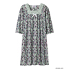 adaptive apparel: Silverts - Women's Cotton Knit Adaptive Hospital Patient Gowns