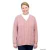 Silverts Adaptive Open Back Warm Weight Cardigan Sweater With Pockets SIL 270800305