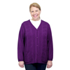 Silverts Adaptive Open Back Warm Weight Cardigan Sweater With Pockets SIL 270800902