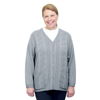 Silverts Adaptive Open Back Warm Weight Cardigan Sweater With Pockets SIL 270801303