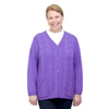 Silverts Adaptive Open Back Warm Weight Cardigan Sweater With Pockets SIL 270802604