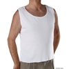 Silverts Snap Open Back Undervest SIL 280250102
