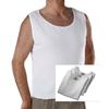 Silverts Mens Open Back Adaptive Under Vests / Undershirts SIL 280450101